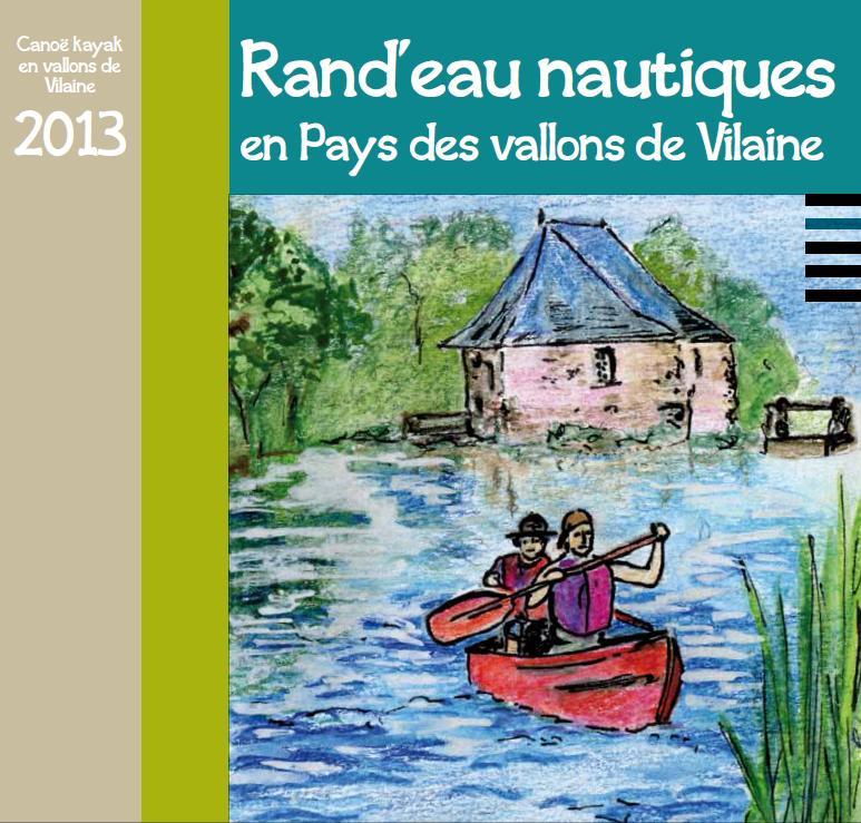 Rand'eau nautiques en pays des vallons de Vilaine