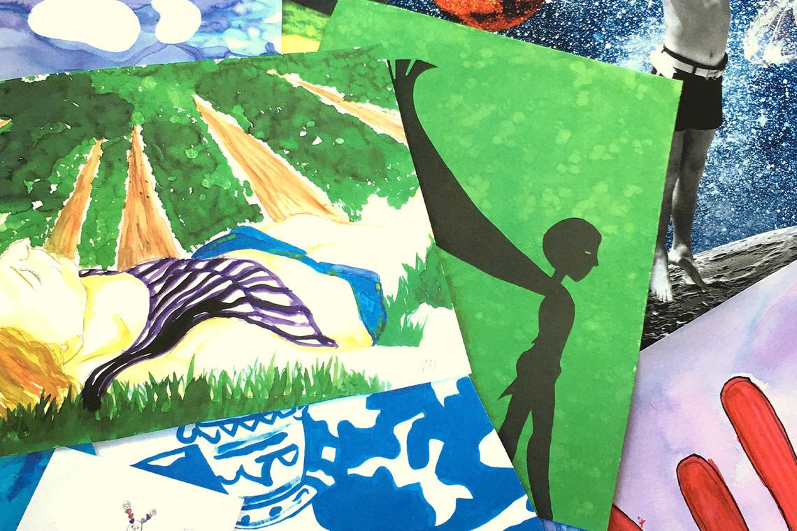 Exposition 2021 d'arts plastiques à Val d'Izé - Vitré Communauté