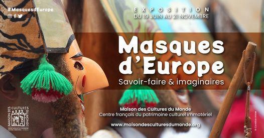 exposition masques d'europe maison des cultures du monde vitré