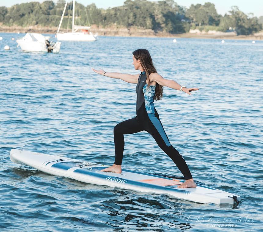 faumea SUP yoga paddle Yoga Dinard Saint Malo