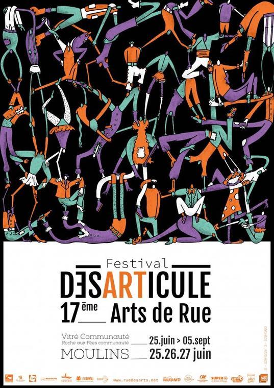 17 ème festival désarticulé arts de rue