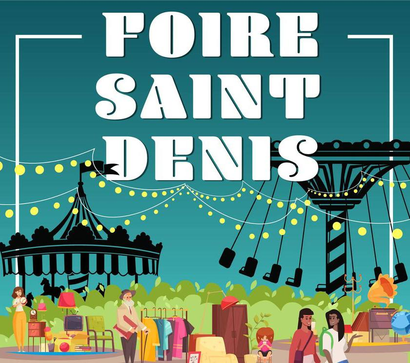 Foire Saint-Denis