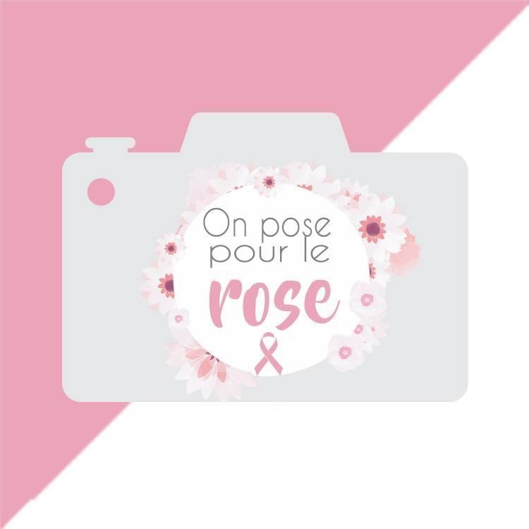 on pose pour le rose