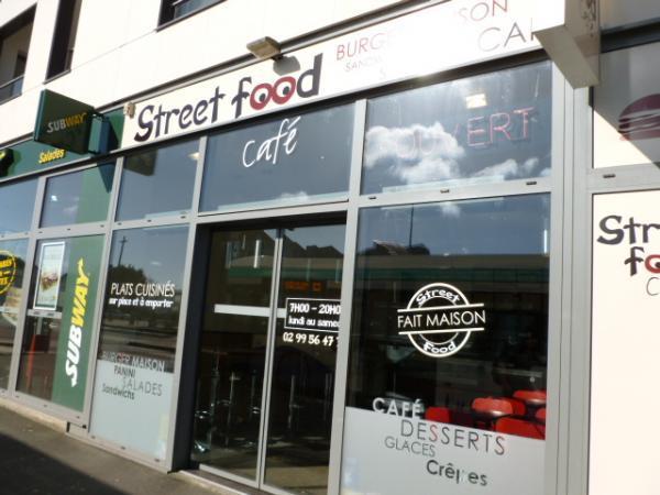Street Food Café Saint-Malo