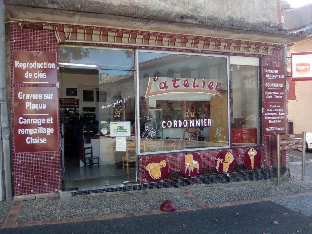 """Cordonnerie-clefs-""""L'atelier"""""""