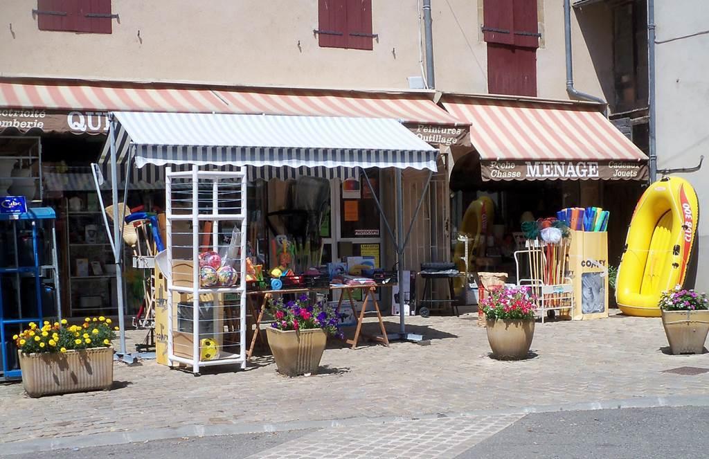 Vue extérieure du magasin