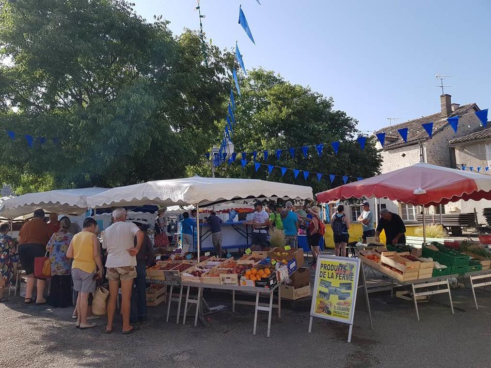 Marché Montpezat