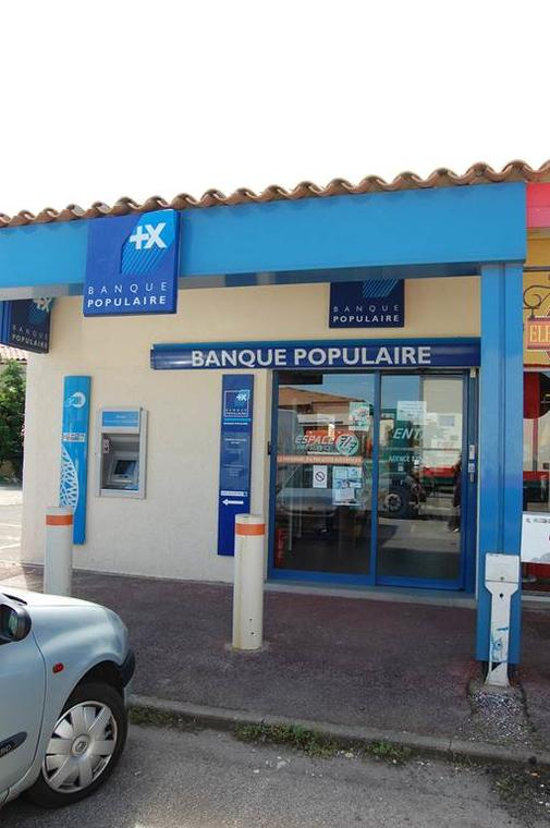 Distributeur Banque Populaire