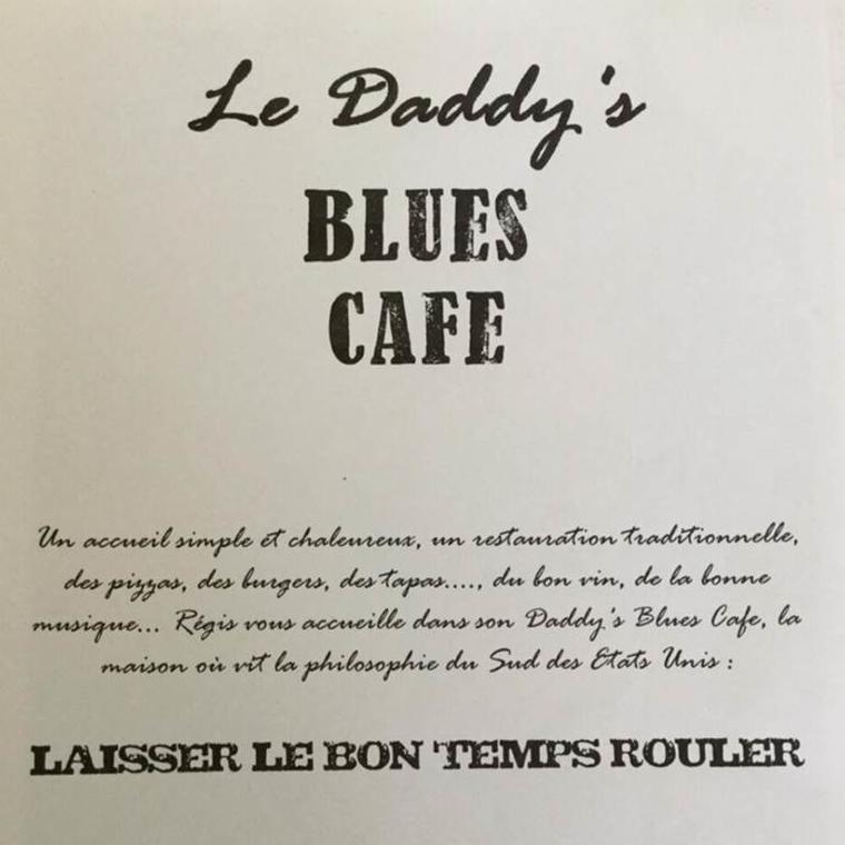 Le Daddy's Blues Café logo