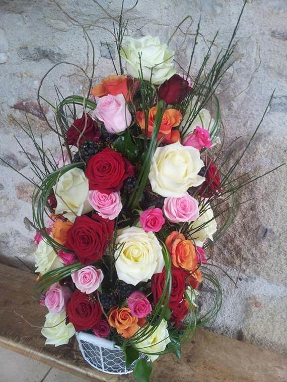Composition florales de Lyse Maruéjouls