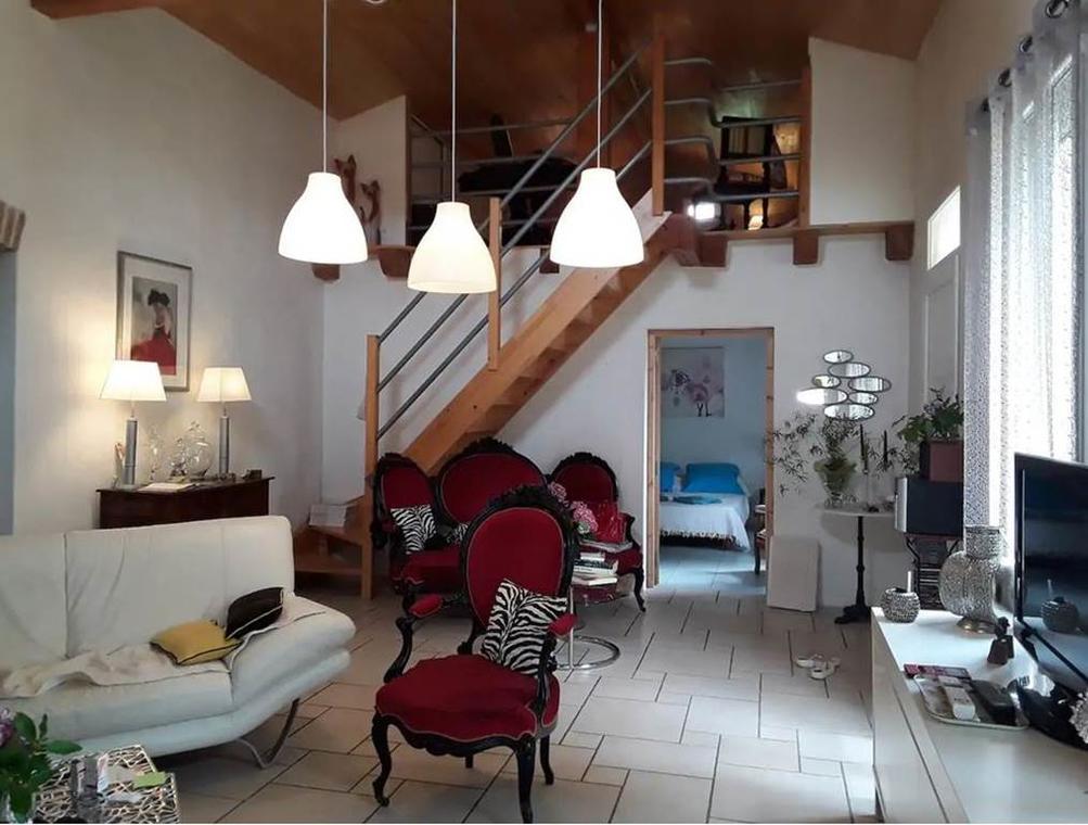 Maison au calme avec jardin Meublé de tourisme Grand Montauban