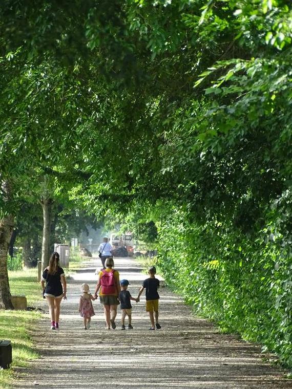 La trouée verte de Bressols Vélo Voie Verte Tarn-et-Garonne