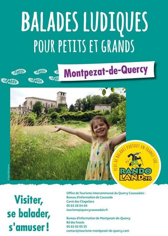 Randoland à Montpezat de Quercy