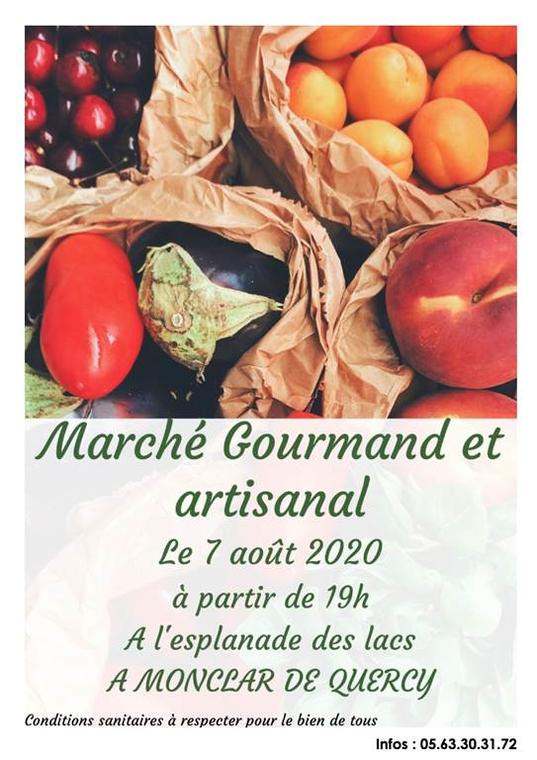 Marché gourmand et artisanal