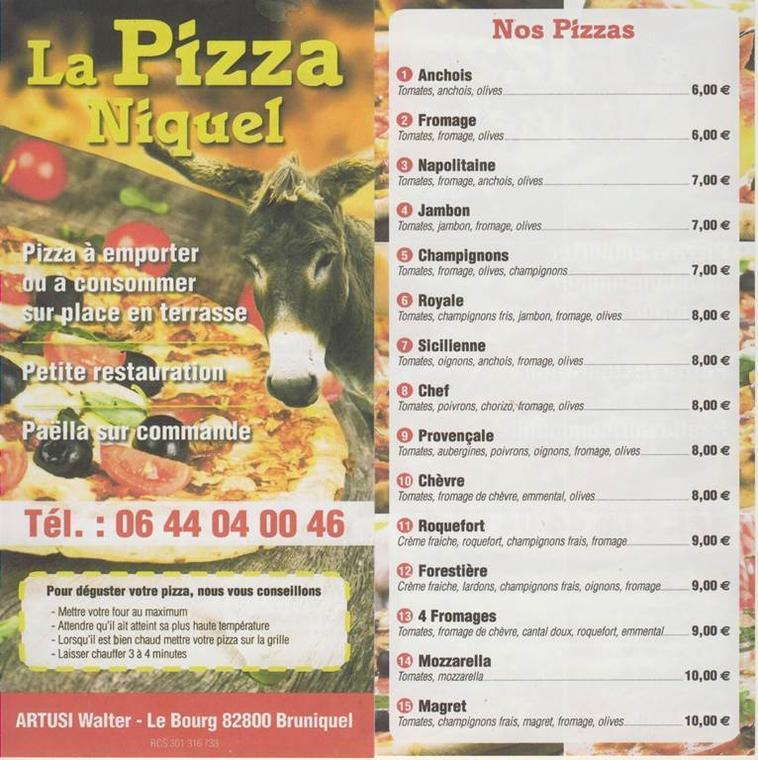 La pizza niquel