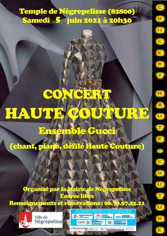 Concert haute couture