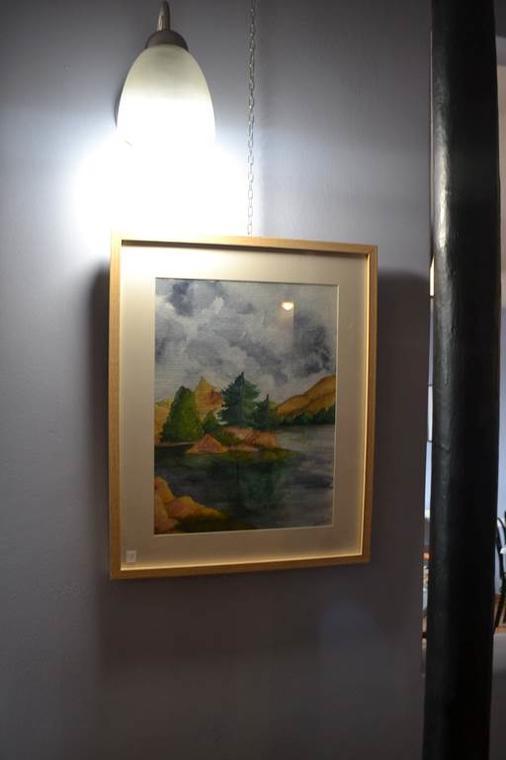 Exposition huiles et aquarelles de Dominique Nizard