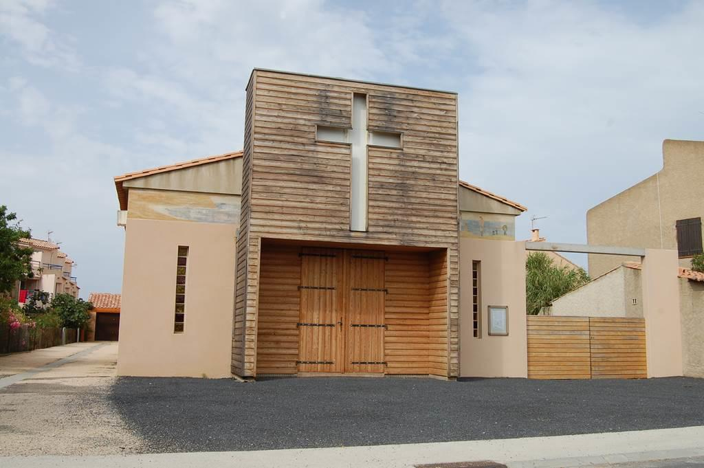 Eglise St Pierre Leucate Plage