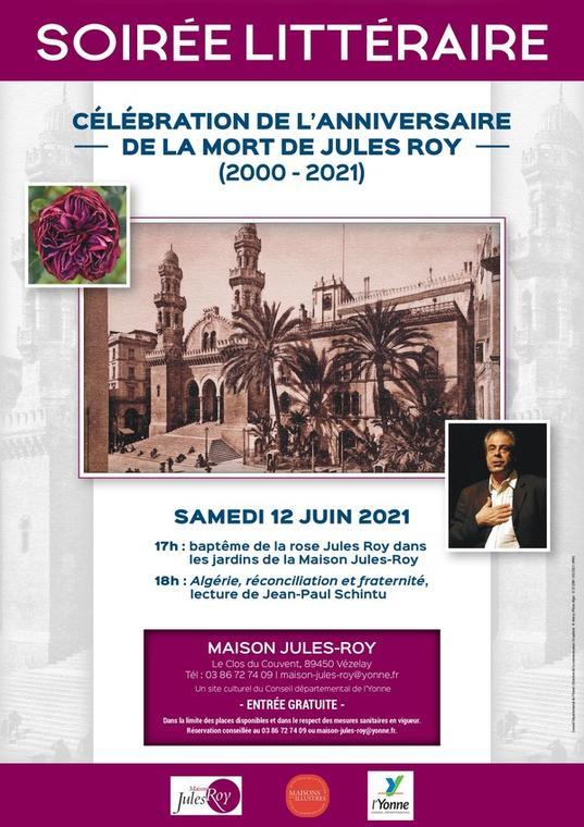 HOMMAGE À JULES ROY : CÉLÉBRATION DE L'ANNIVERSAIRE DE SA MORT EN 2000