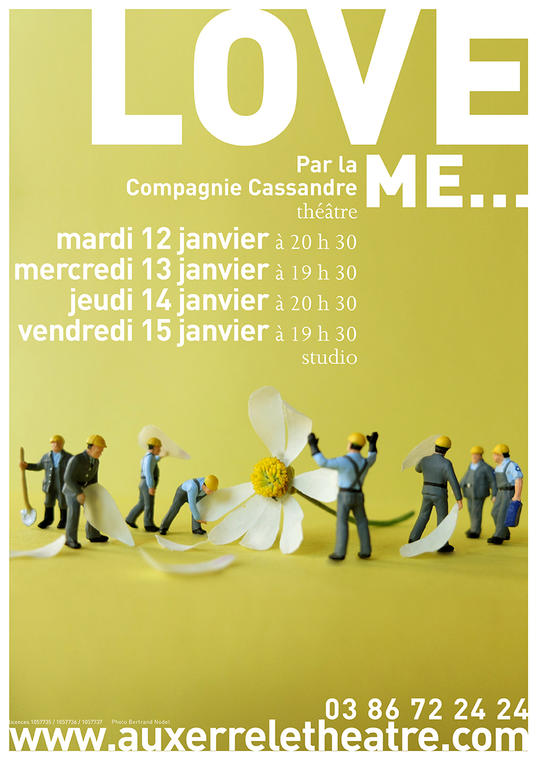 Affiche A3 Love me