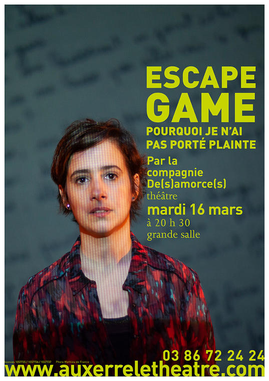 Affiche A3 escape game