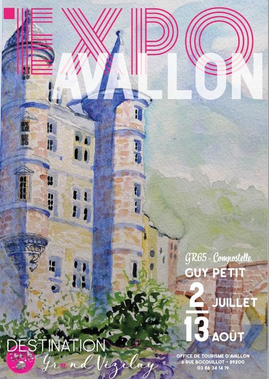 Guy Petit Exposition Avallon