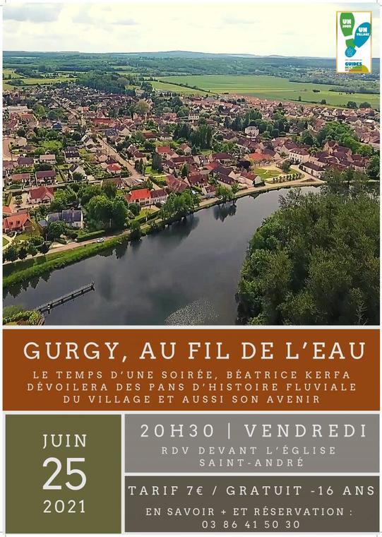GURGY AU FIL DE L'EAU