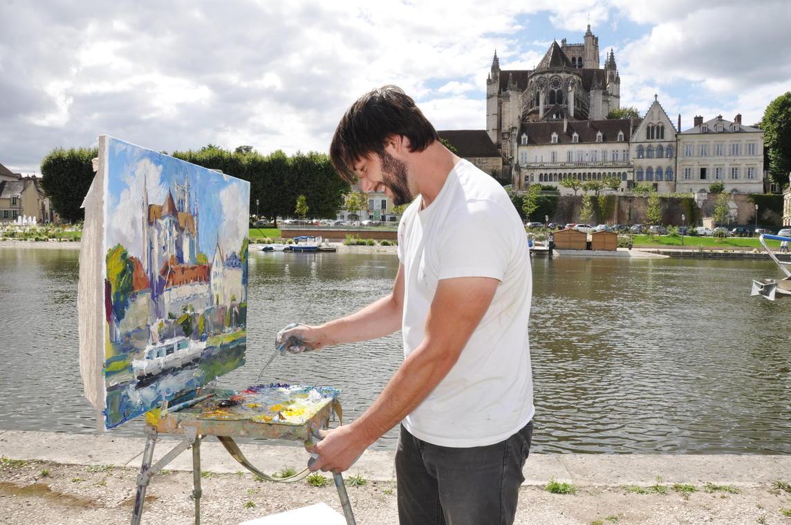 Dessine moi Auxerre- Josette Laliaux