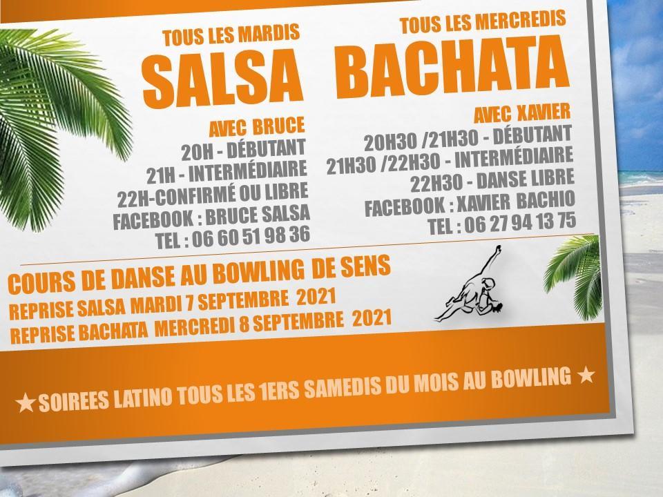 Flyer Salsa Bachata 2021