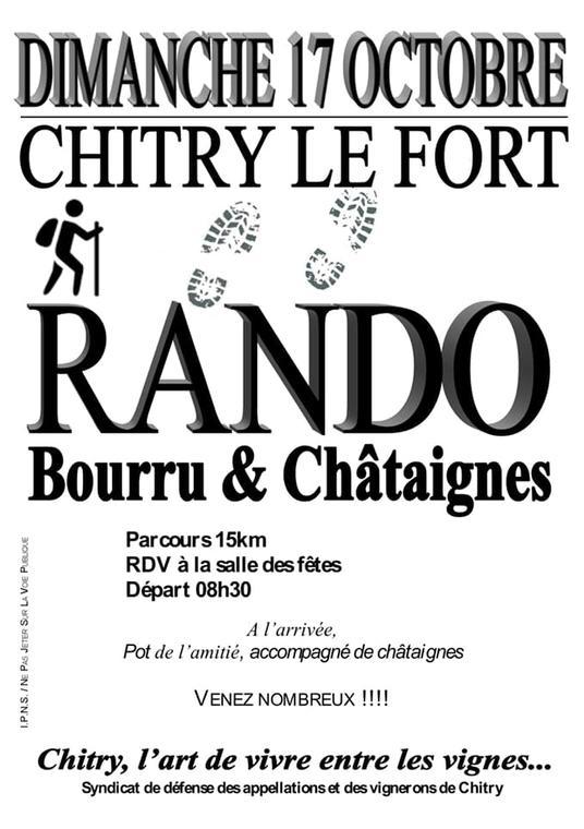 RANDO BOURRU ET CHÂTAIGNES