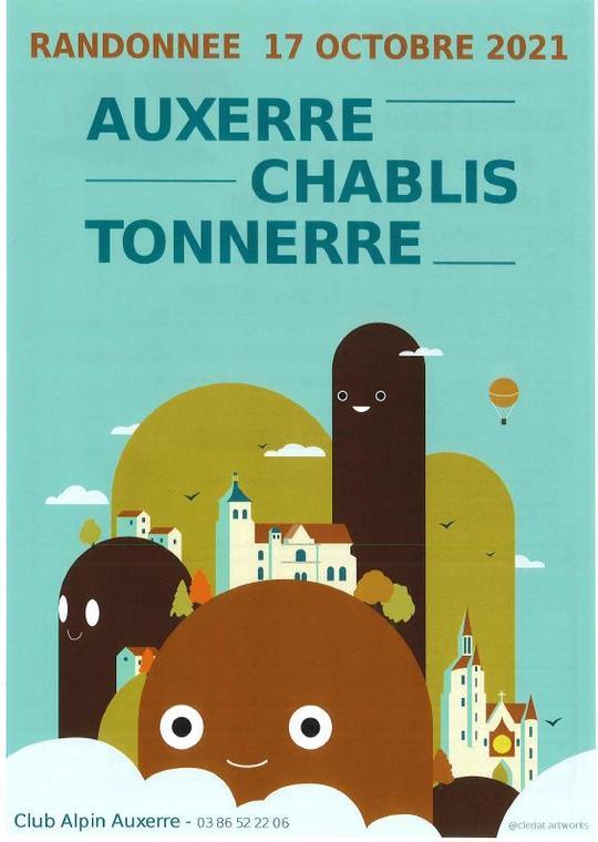 Rando Auxerre-Chablis-Tonnerre 17 oct