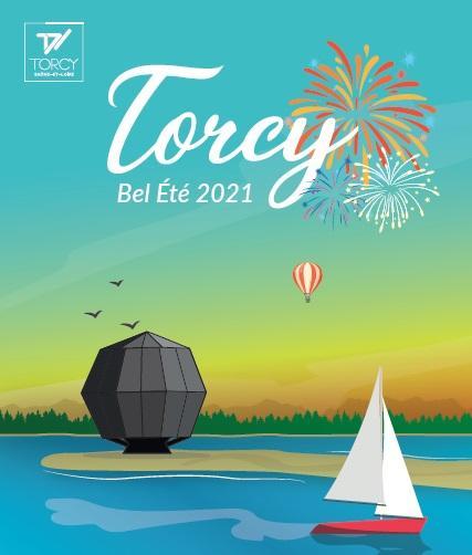 Affiche Torcy bel été 2021