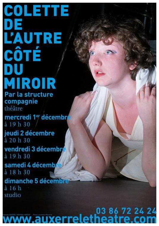 Colette de l'autre côté du miroir
