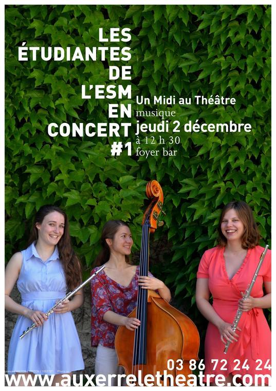Les étudiants de l'ESM en concert #1