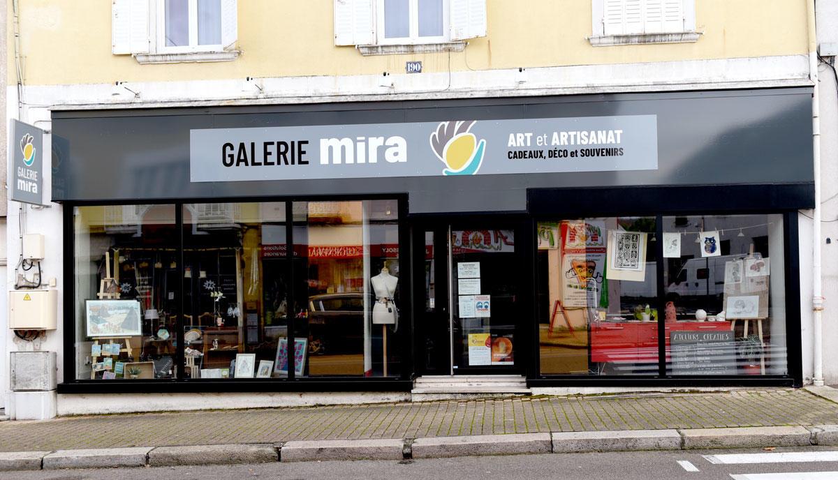 Façade de la Galerie Mira, Le Creusot