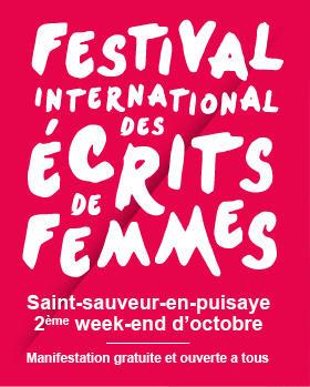 9E FESTIVAL INTERNATIONAL DES ÉCRITS DE FEMMES