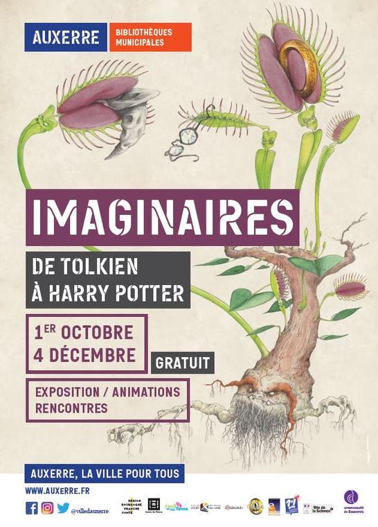 IMAGINAIRES - DE TOLKIEN À HARRY POTTER