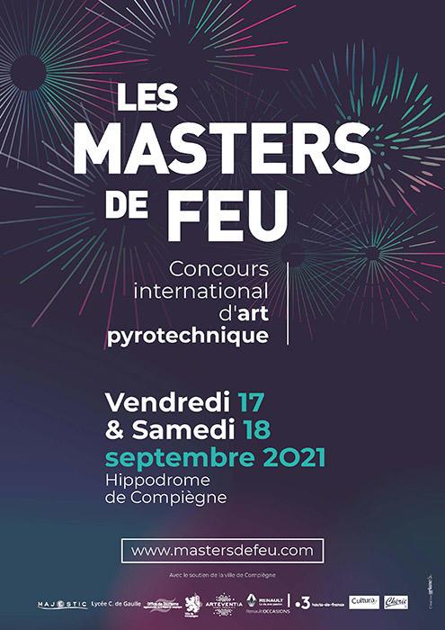 Masters de Feu 2021_Format poster