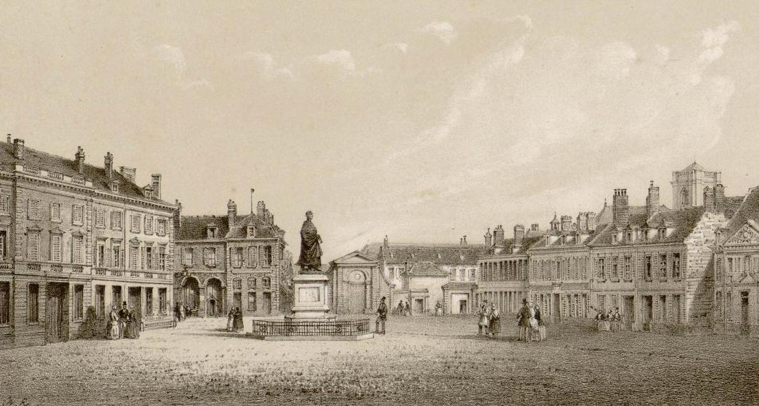 Abbeville place Clemenceau