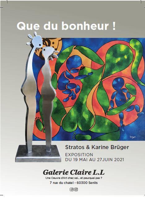 Expo Stratos et Karine Brüger