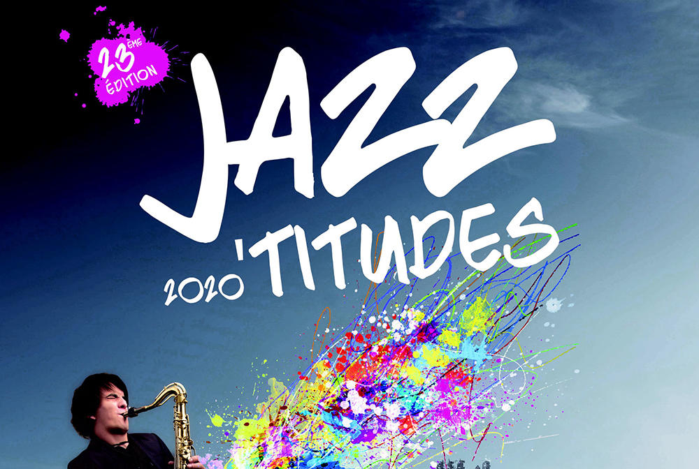 Festival des Jazz'Titudes 2020 affiche < Laon < Aisne < Picardie