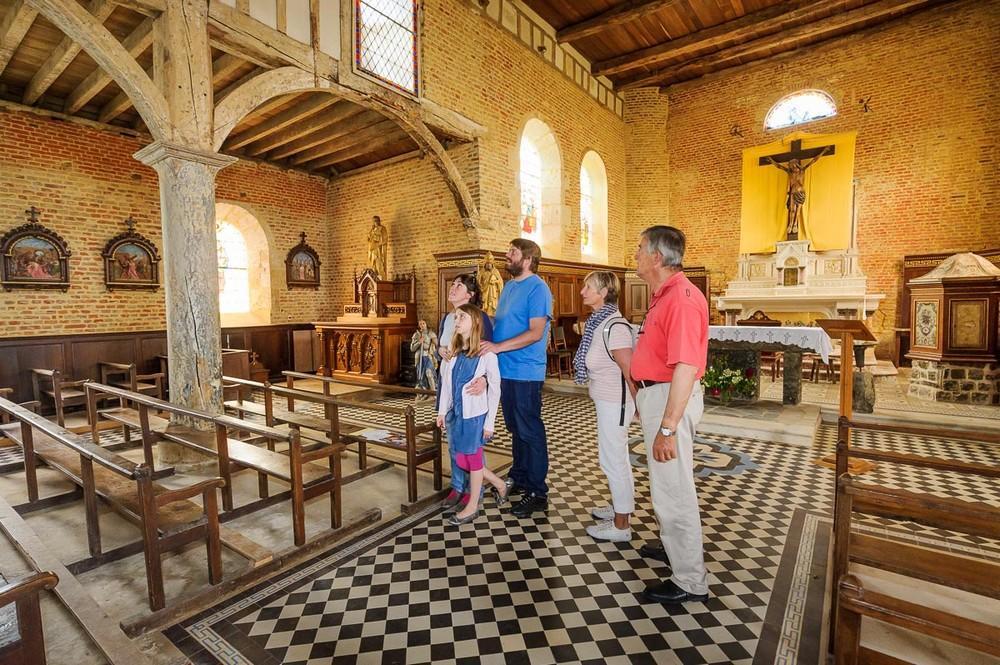 Visites d'été < Eglise de Parfondeval < Parfondeval < Thiérache < Aisne  picardie