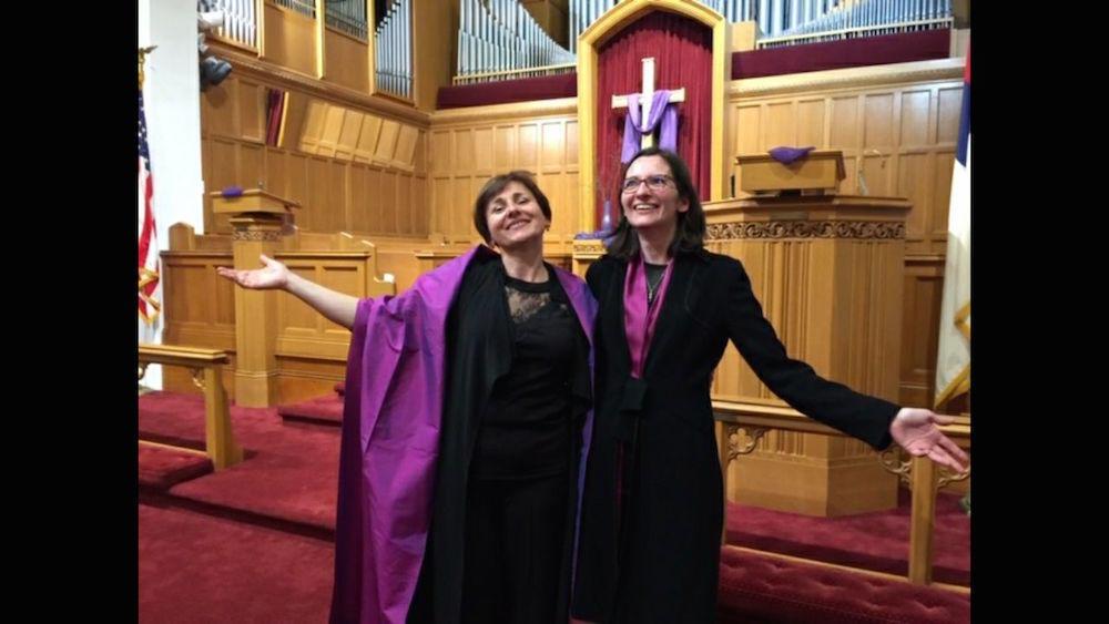 Elodie MARCHAL et Sandrine LEBEC