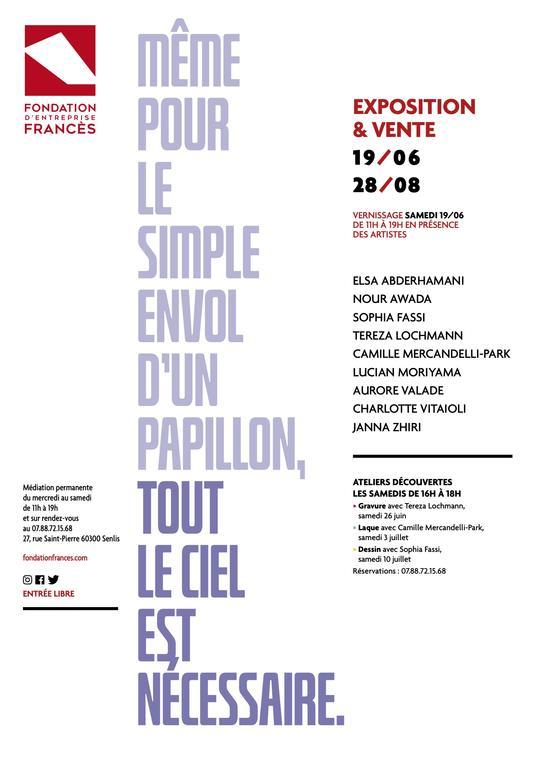 expo fondation FRANCES