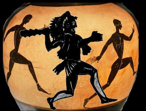 Hercule et les athlètes