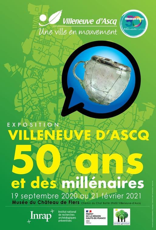 Exposition Villeneuve d'Ascq 50 ans et des millénaires_1