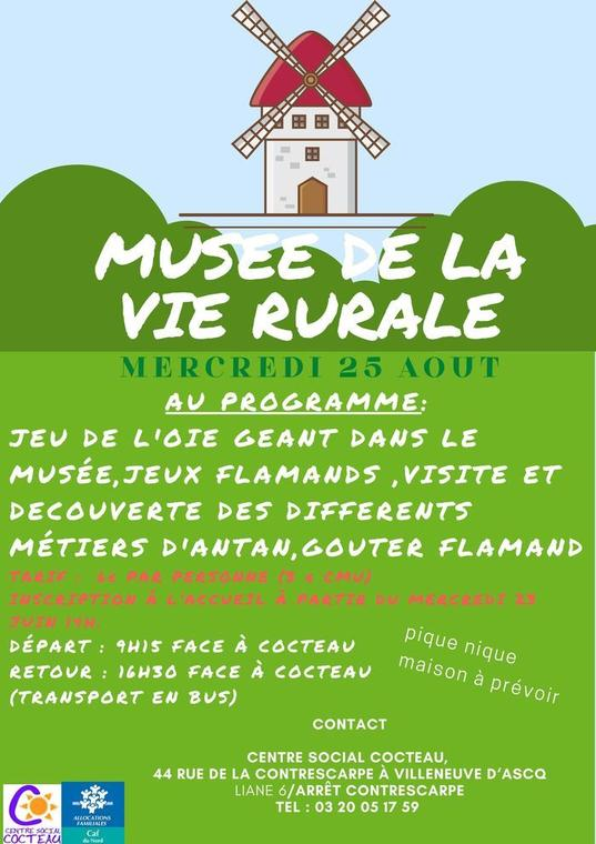 Visite du musée de la vie rurale_1