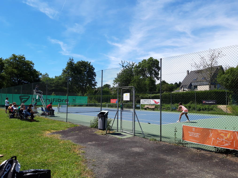 Courts de tennis extérieurs