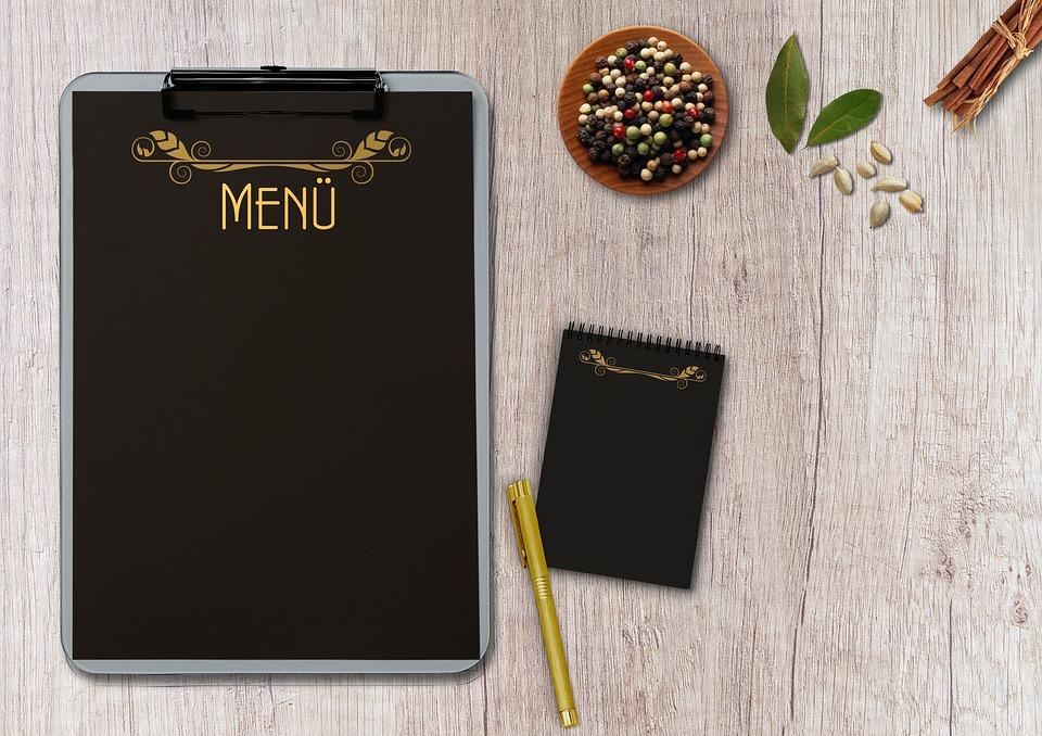 restaurant menu-3167860_960_720
