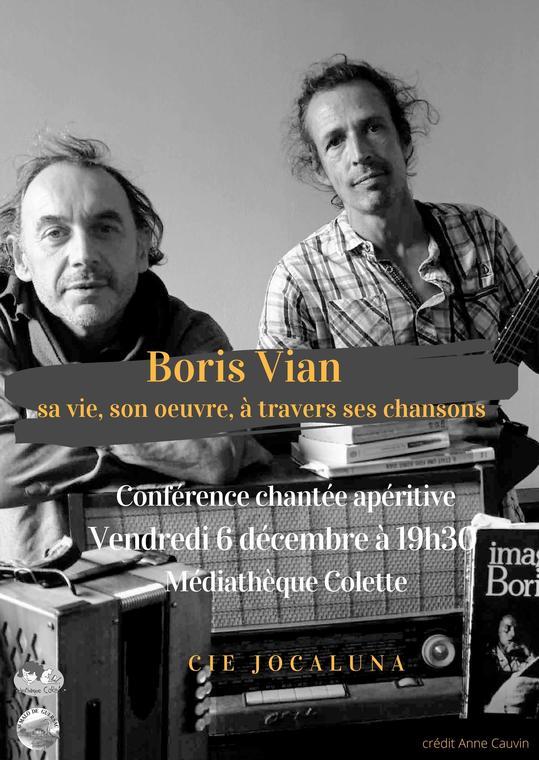 Cie Jocaluna - Les amis de Boris Vian
